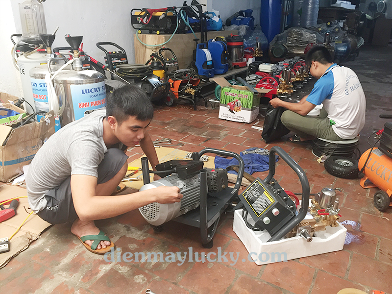 sửa chữa máy rửa xe cao áp