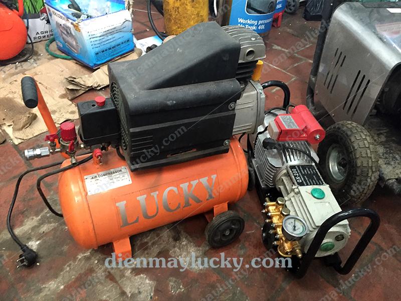 máy nén khí mini cũ