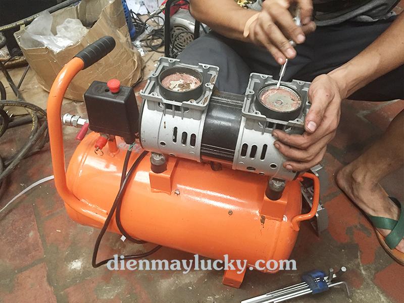 cách sửa chữa máy nén khí