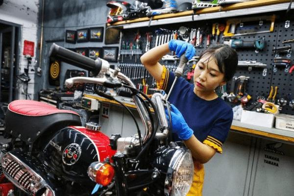 mở tiệm sửa xe máy cần những gì